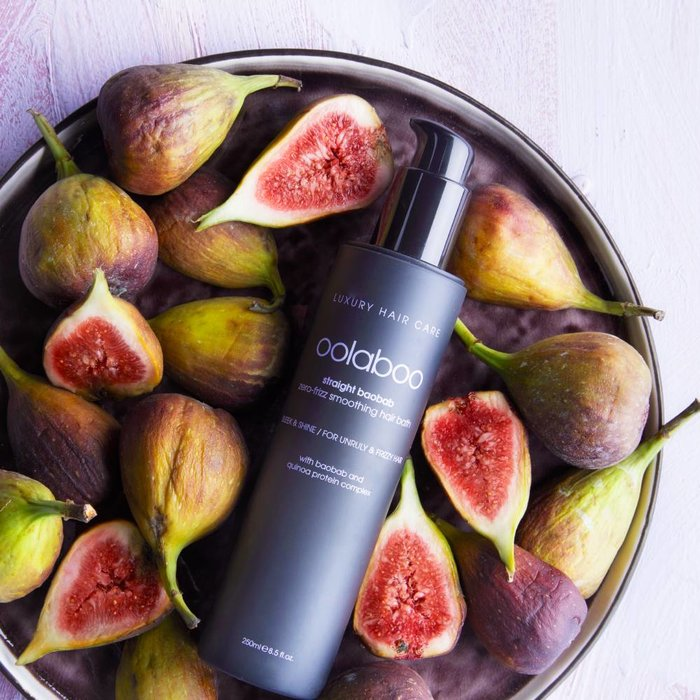 straight baobab flattening hair care