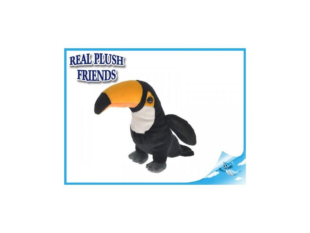 Tukan plyšový 18cm
