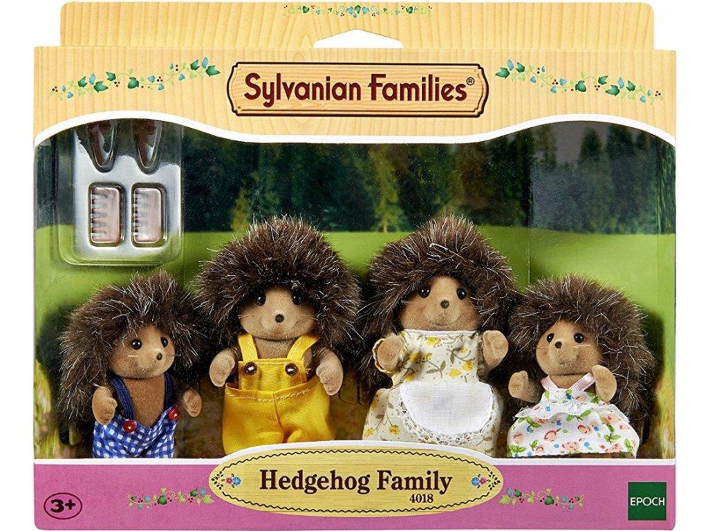 Sylvanian Families 4018 - Rodina ježků