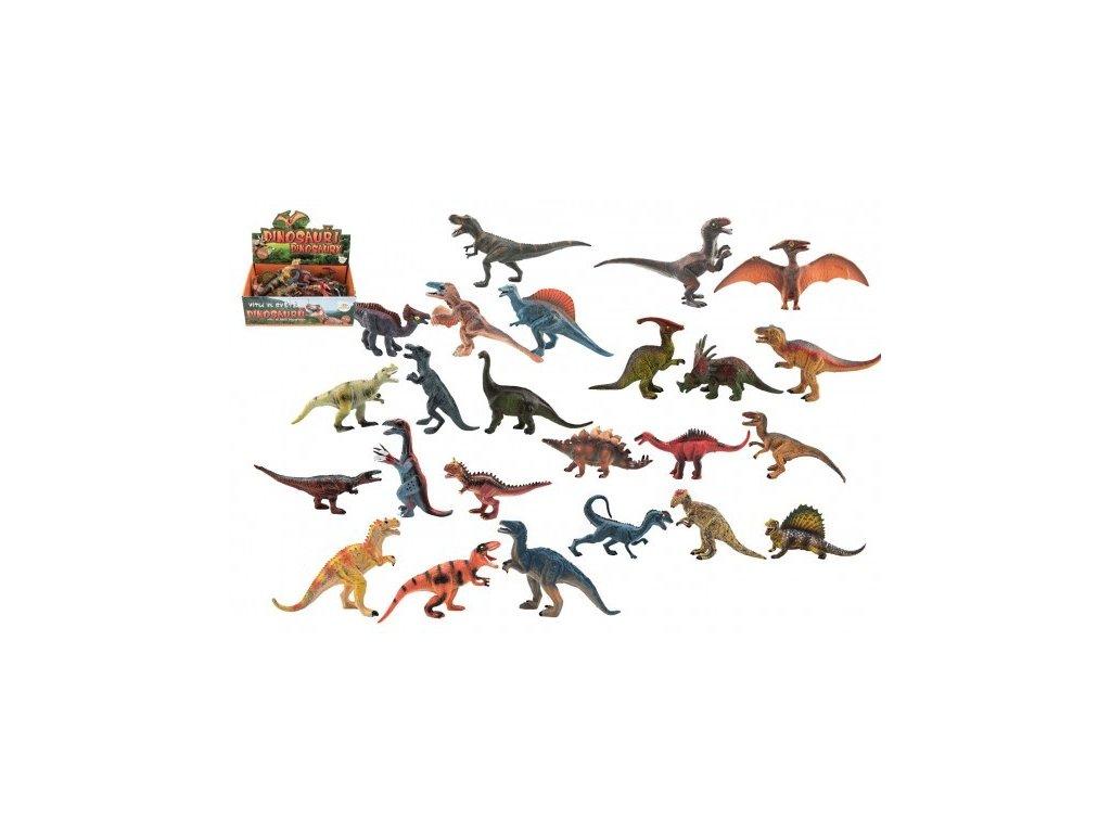 Dinosaurus plast 11-14cm
