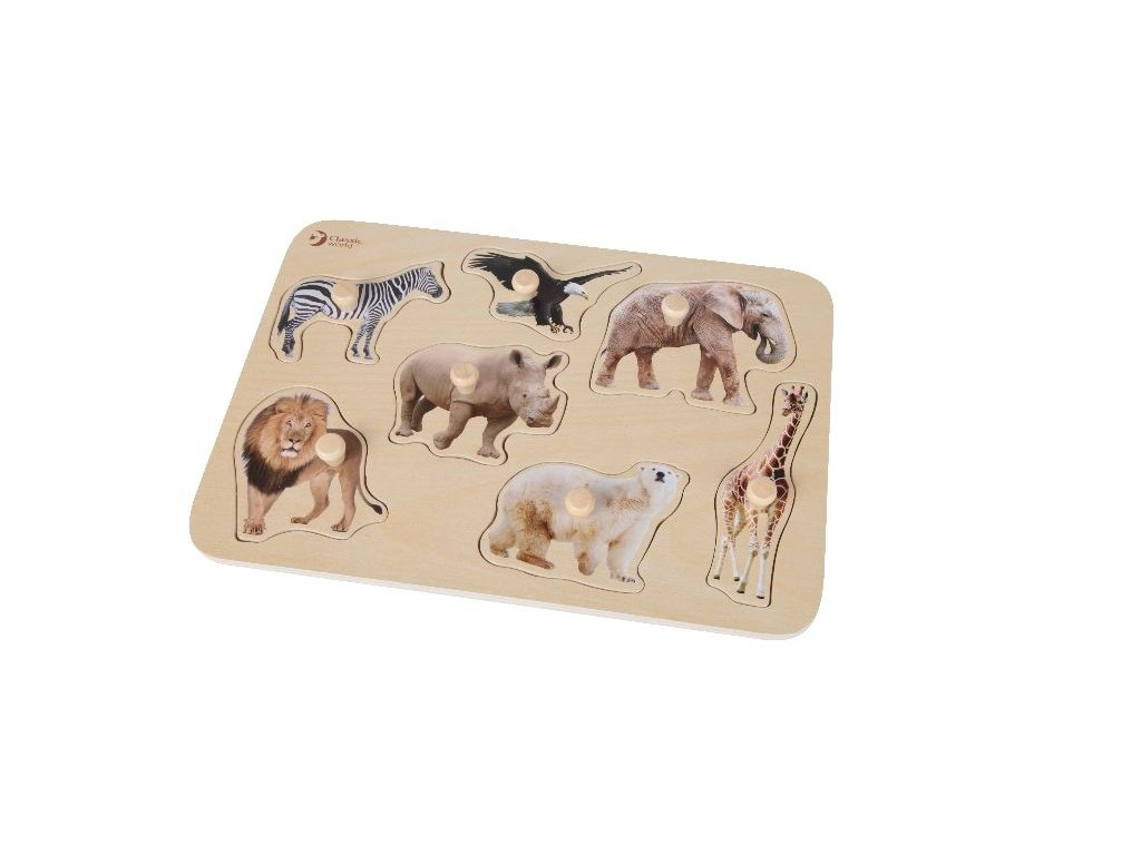 Dino magnetické puzzle