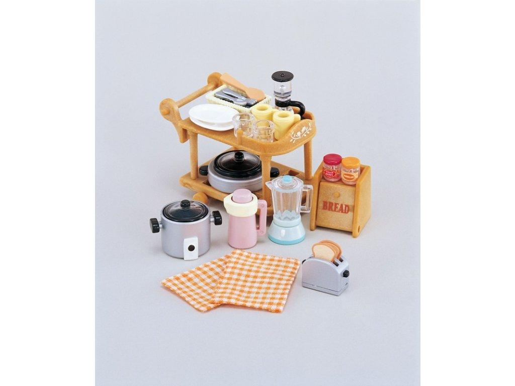 Sylvanian Families 5090 - Kuchyňské nádobí set