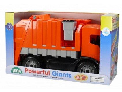 Auto popeláři plast 72cm 2-osé v krabici