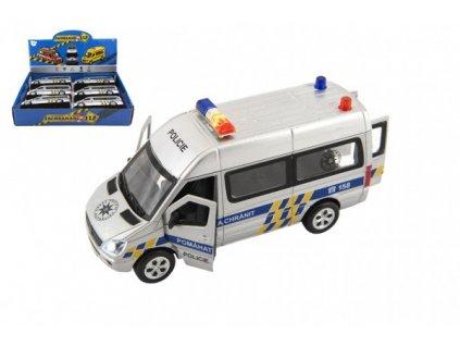 Auto policie kov/plast