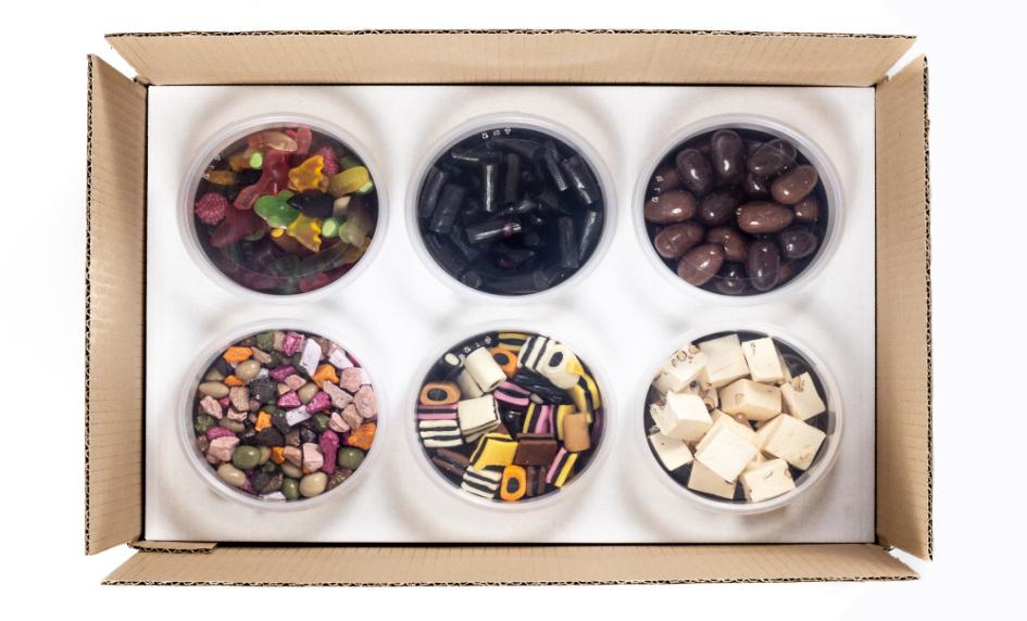 Cukrovinky krabice