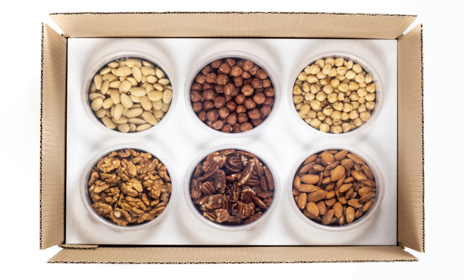Ořechy a semena krabice