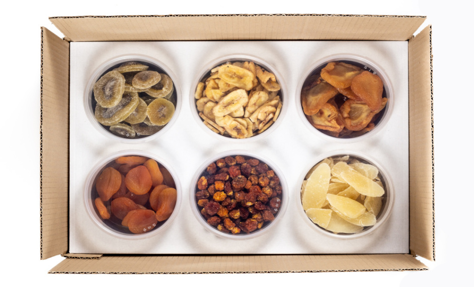 Sušené ovoce krabice