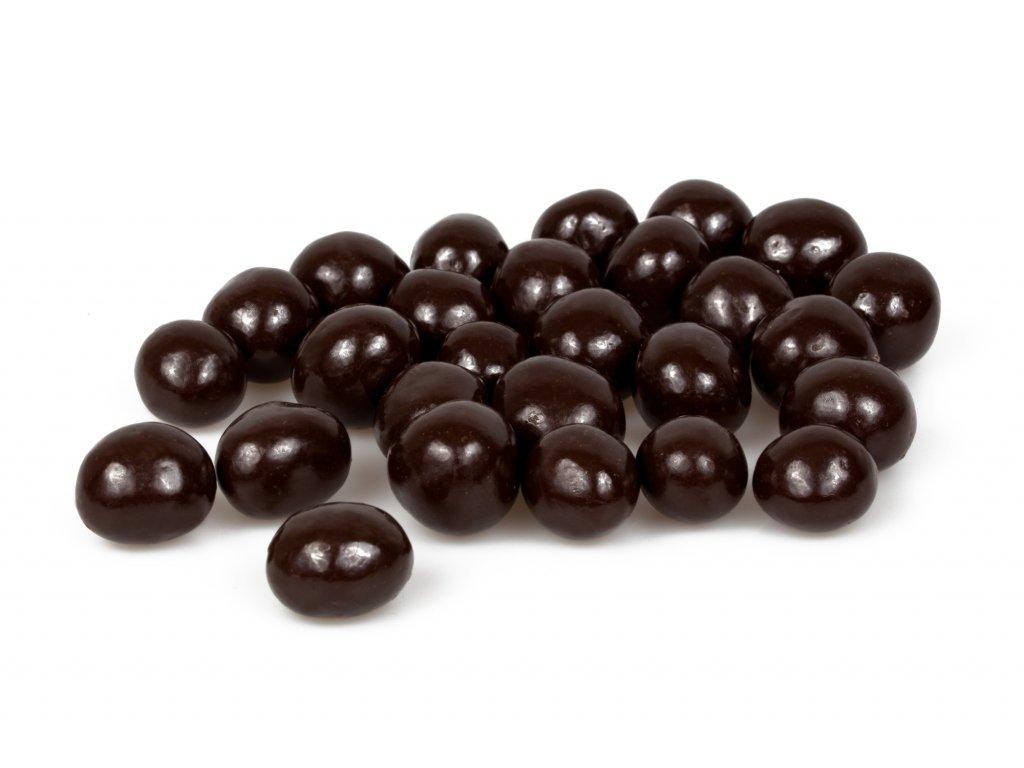liskova jadra v horke cokolade