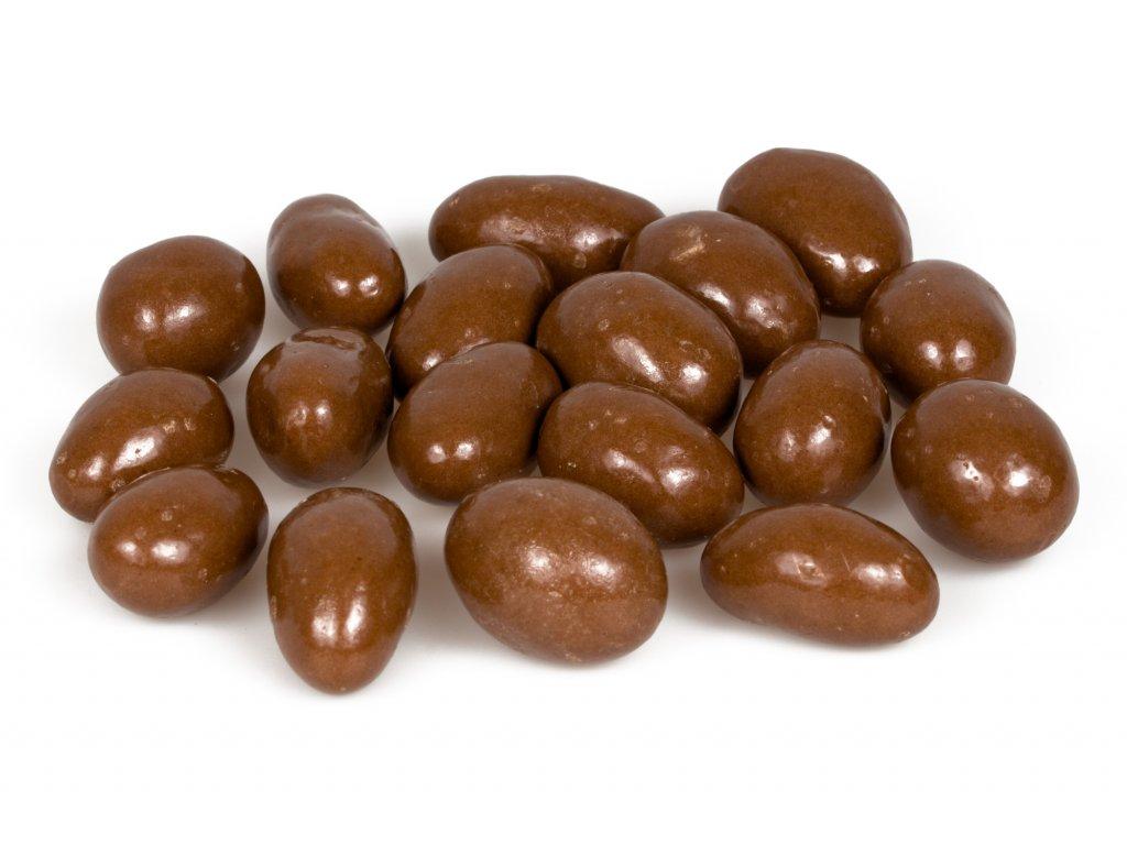 para orechy v mlecne cokolade