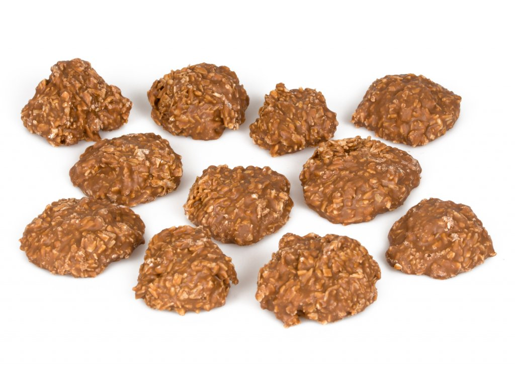kokosove hrudky v mlecne cokolade