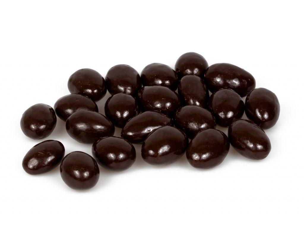 mandle v horke cokolade