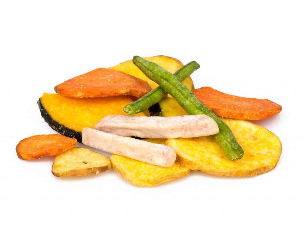 zeleninove chipsy