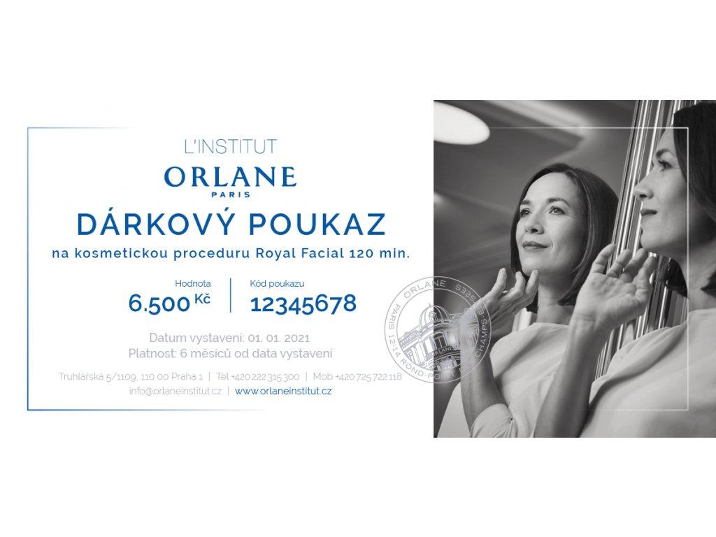 Orlane CZ SK Darkovy poukaz na kosmetickou proceduru Royal Facial 120 min uvod