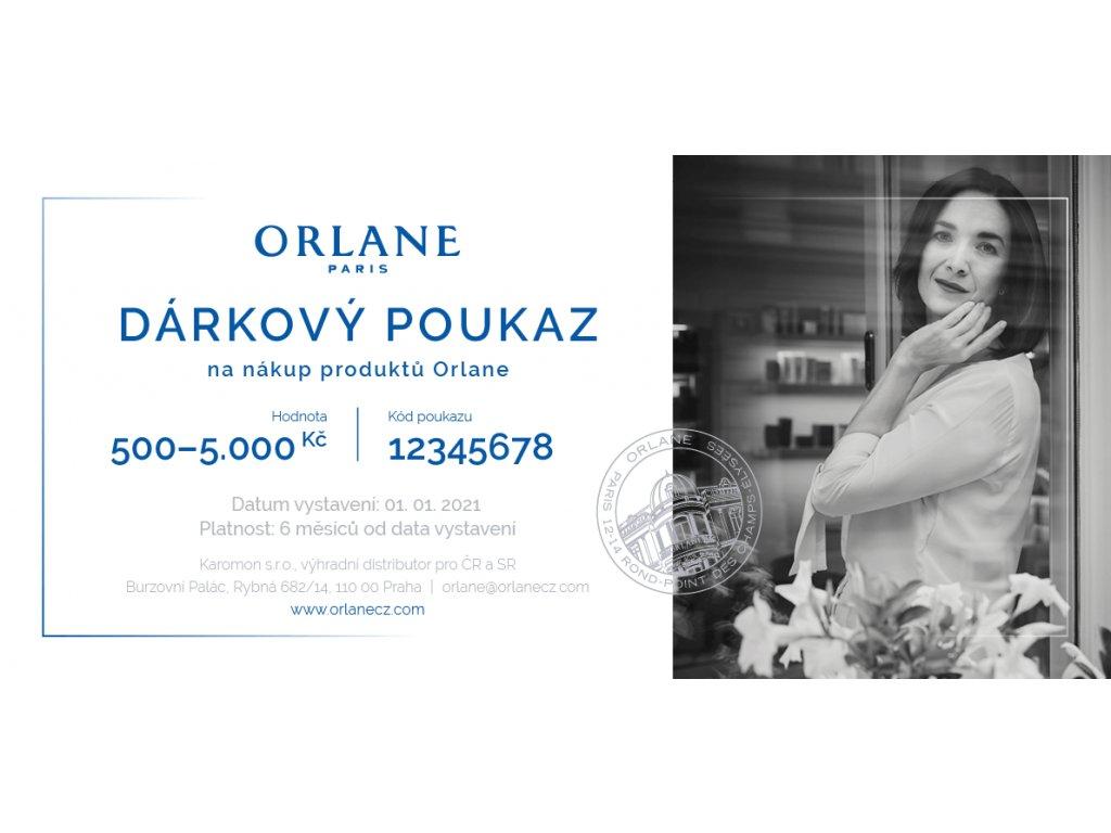 Orlane CZ SK Darkovy poukaz na nakup produktu Orlane uvod