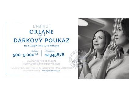Orlane CZ SK Darkovy poukaz na sluzby Institutu Orlane uvod
