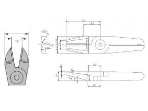 Nože N30AP - k nůžkám GT-N30