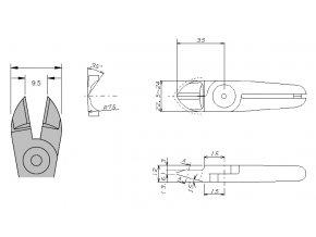 Nože N20AP - k nůžkám GT-N20