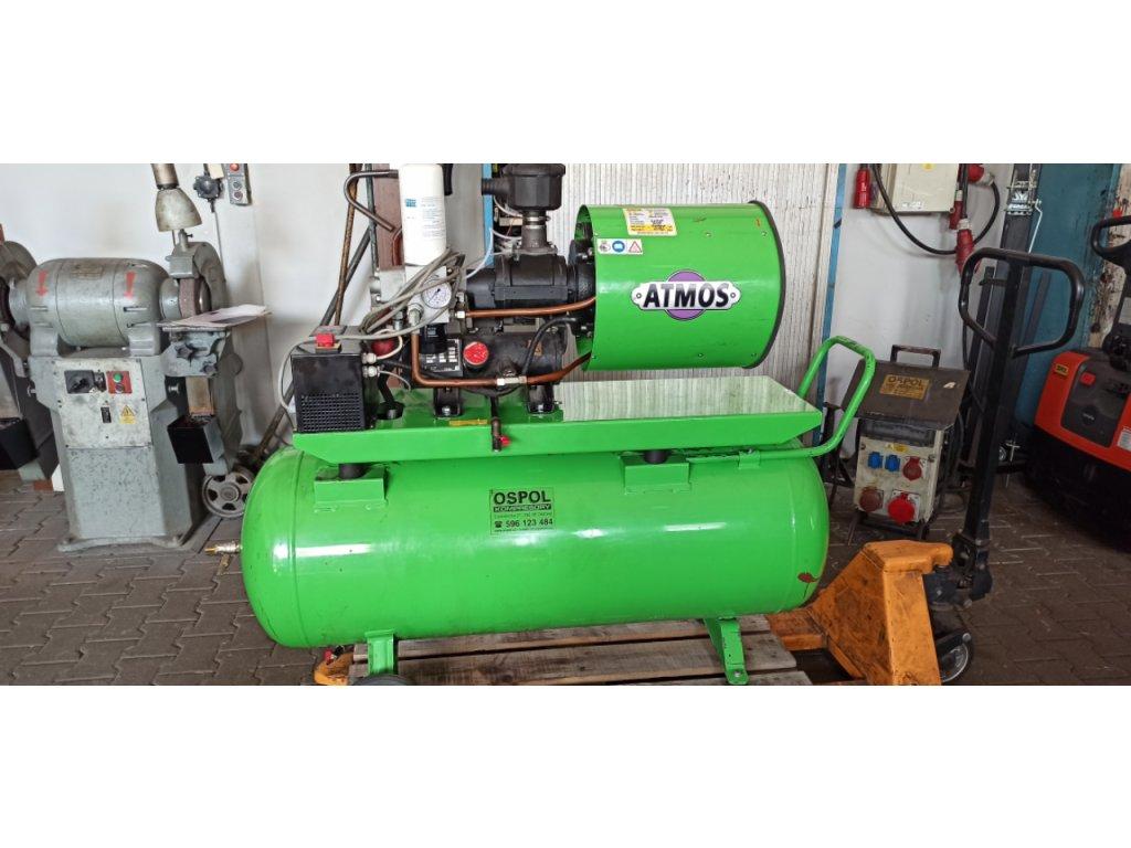 Šroubový kompresor s frekvenčním měničem ATMOS Albert E 80 Vario