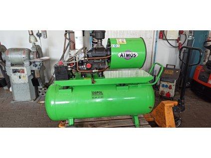 Šroubový kompresor ATMOS Albert E 80 Vario frek. měnič