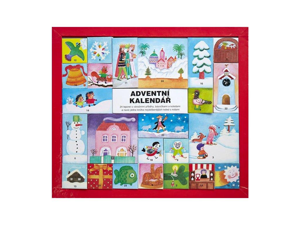Adventní kalendář s leporely