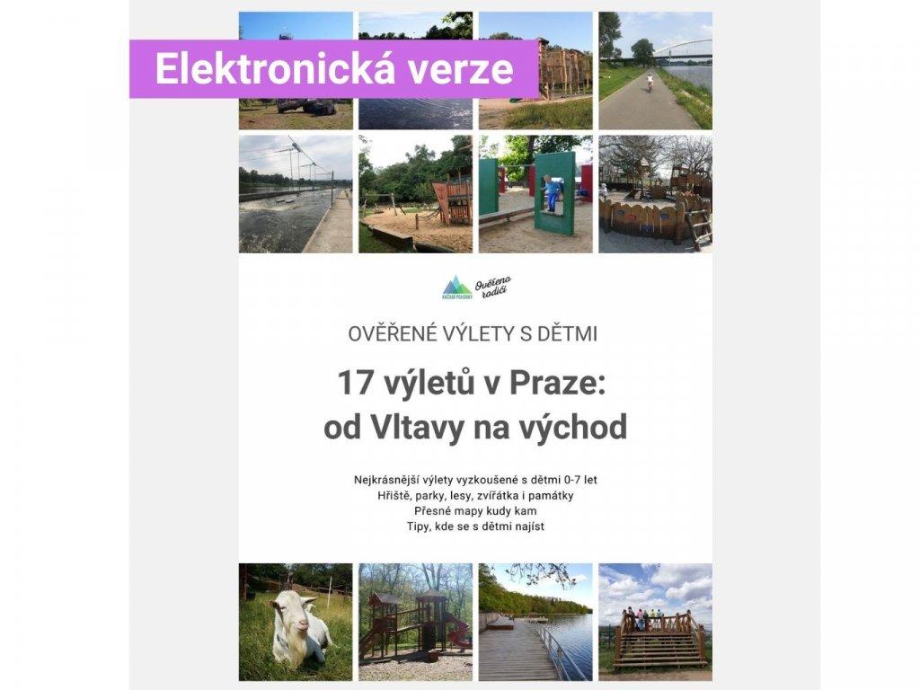 E-book 17 Ověřených výletů s dětmi v Praze: východní břeh