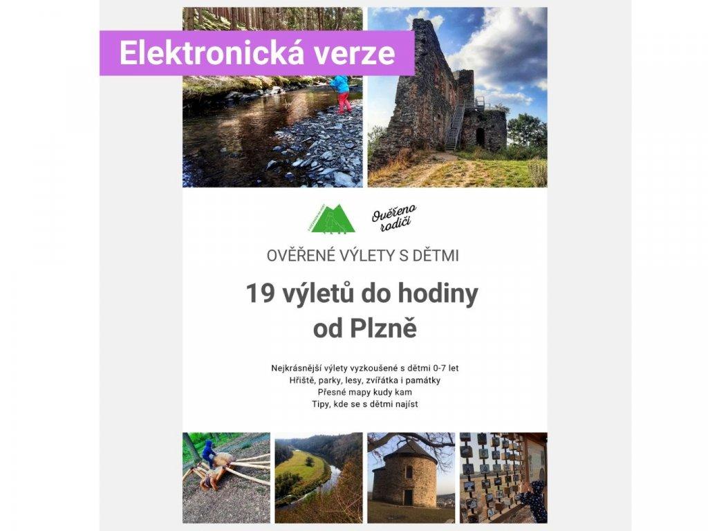 E-book Ověřené výlety s dětmi: 19 výletů do hodiny od Plzně