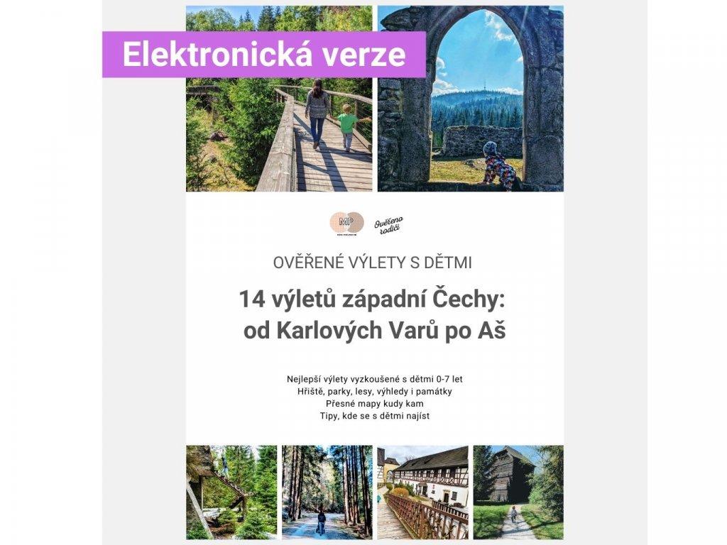 Ebook Výlety s dětmi západní Čechy od Karlových Varů po Aš