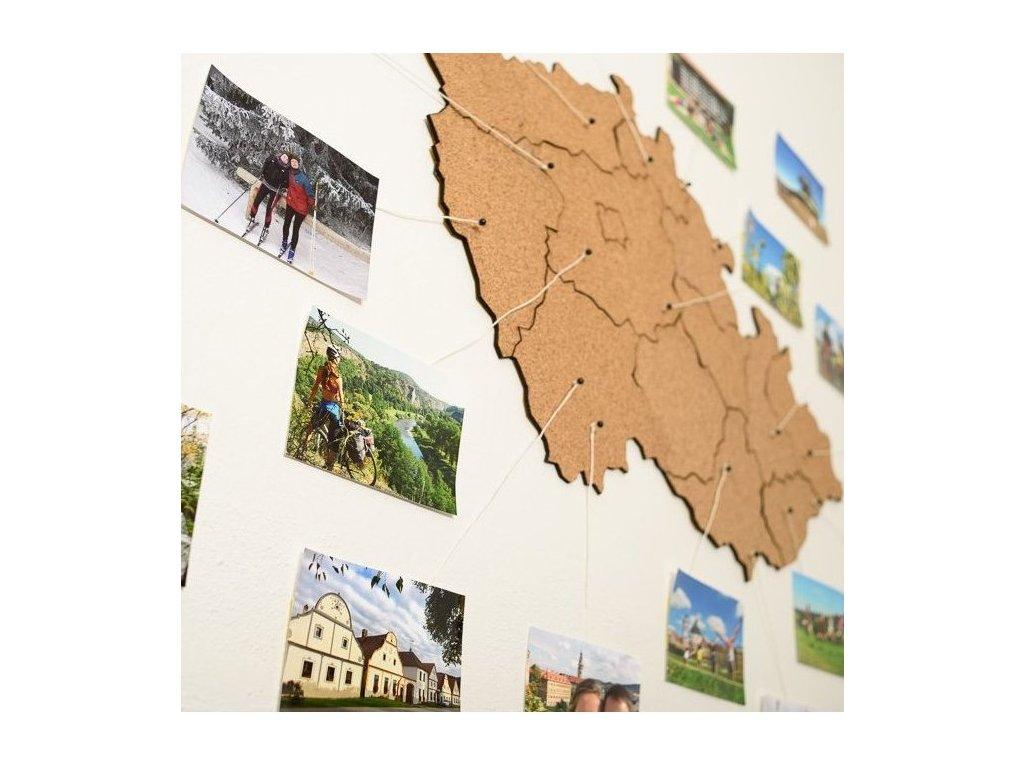 Mapa Moje Česko