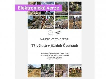 E-book 17 Ověřených výletů s dětmi: Jižní Čechy