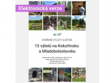 E-book 15 Ověřených výletů s dětmi: Kokořínsko a Mladoboleslavsko
