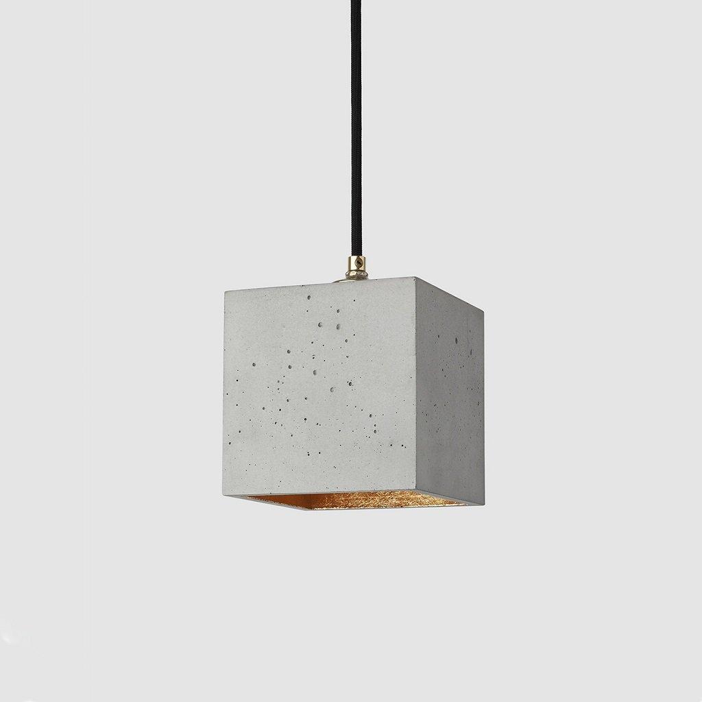 svítidlo z betonu