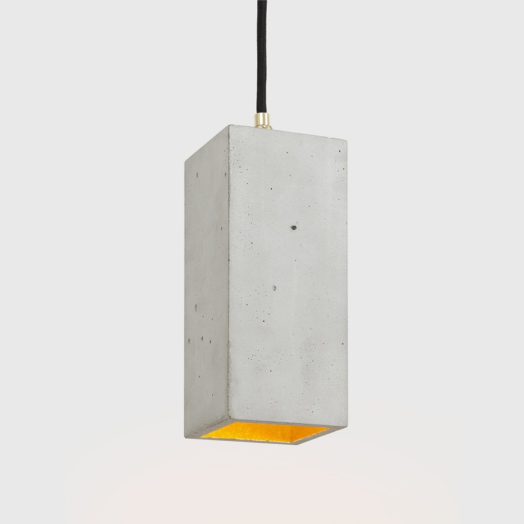 betonový kvádr svítidlo