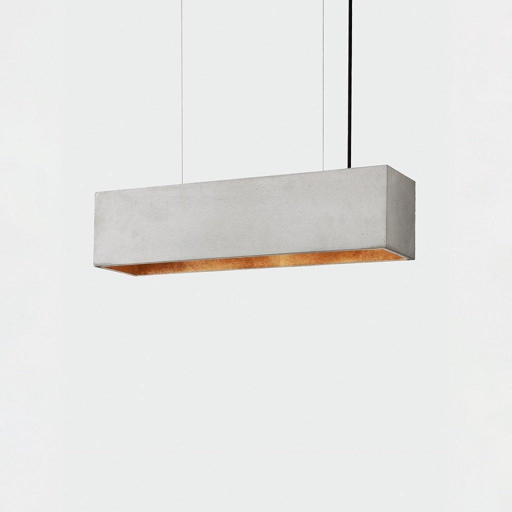 lineární betonové svítidlo