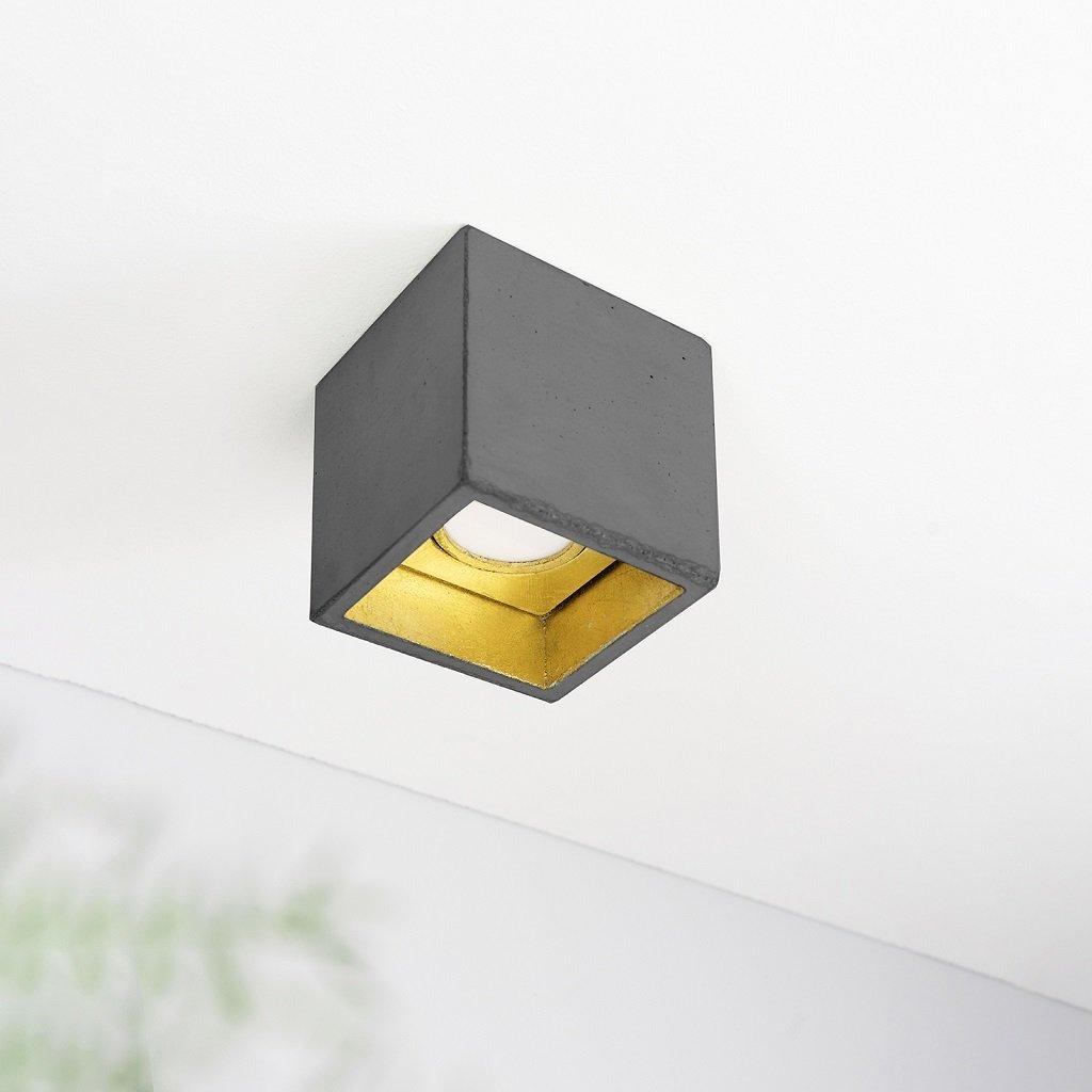 přisazené svítidlo betonová kostka