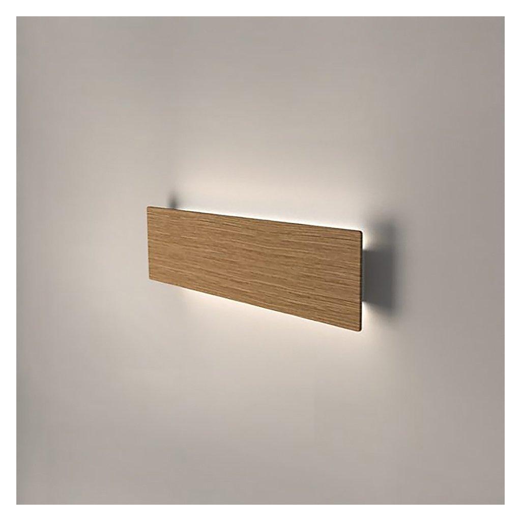 dřevěné nástěnné svítidlo