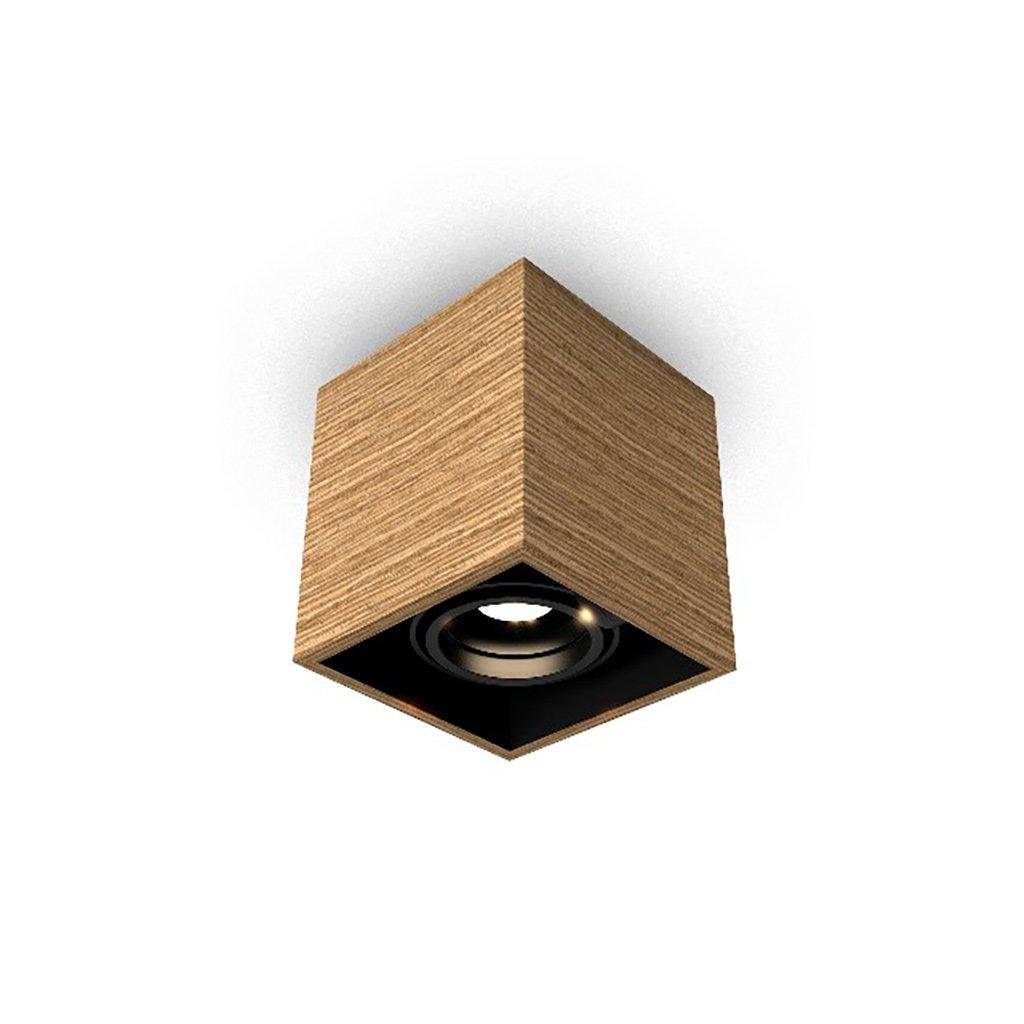 malé dřevěné svítidlo