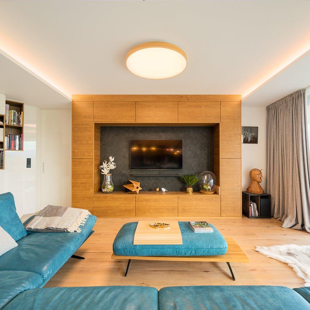 designové dřevěné svítidlo