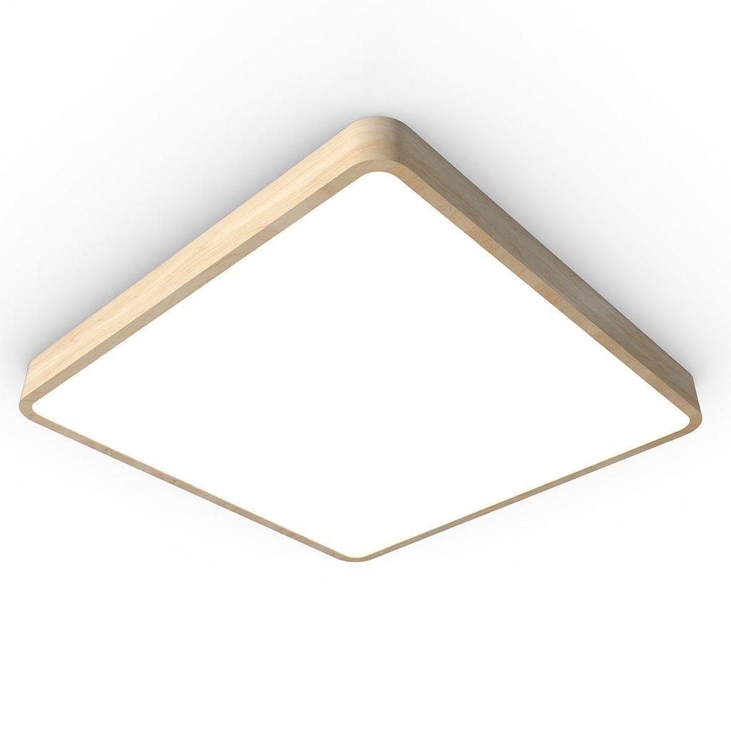 světlo dřevo čtverec oblé hrany