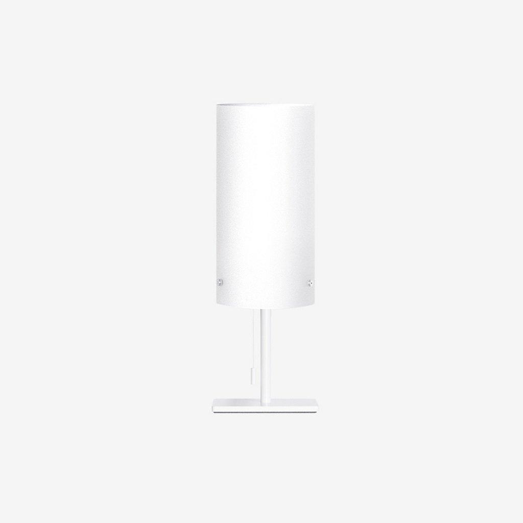 skleněná stolní lampička