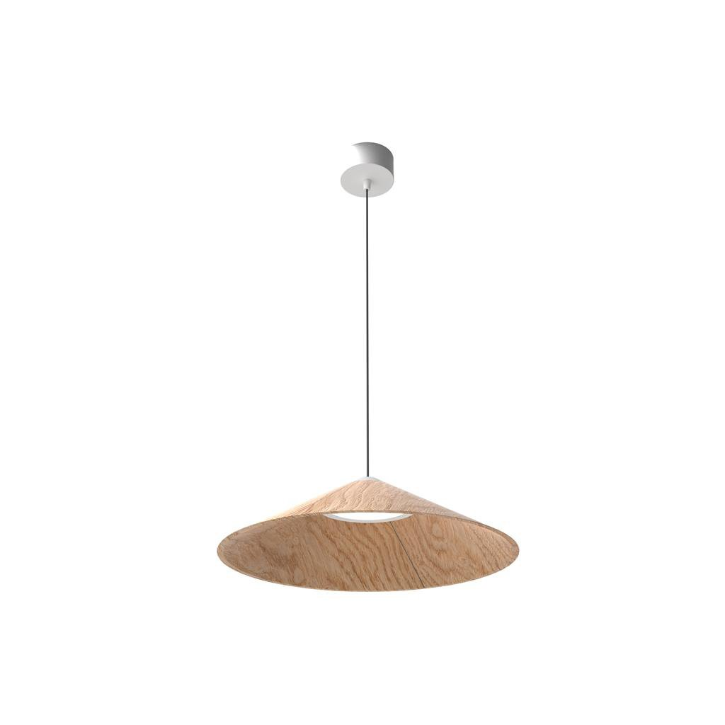 Závěsné dřevěné svítidlo