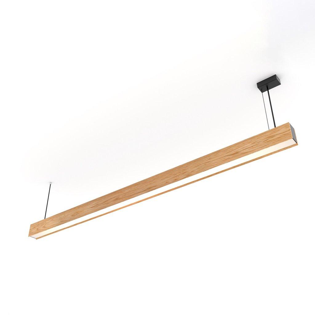 dřevěné svítidlo difuzní