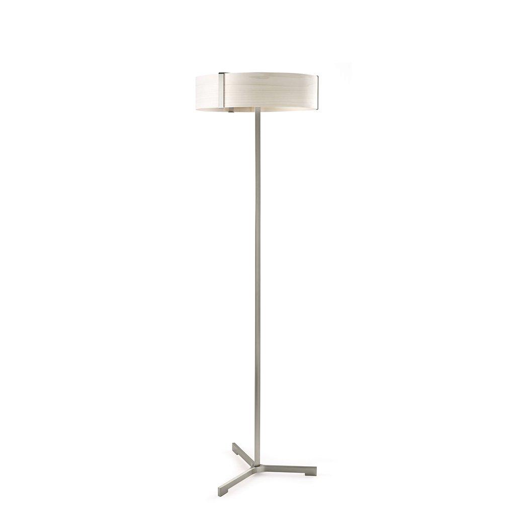 led lampa s dřevem