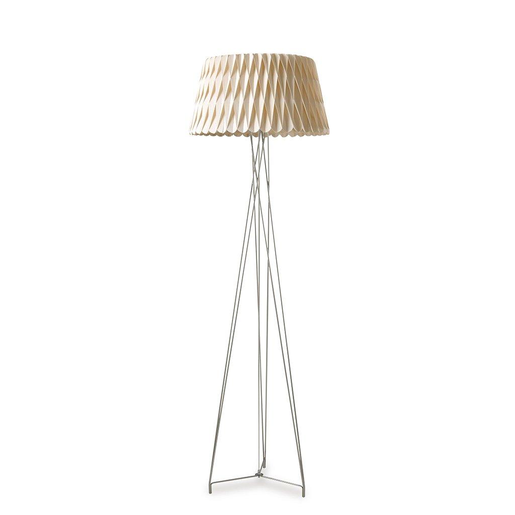 dekorativní lampa z dýhy