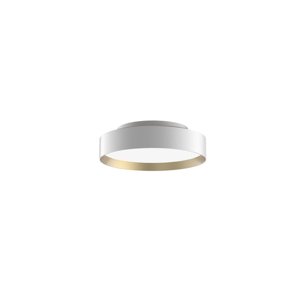 černo zlaté stropní svítidlo