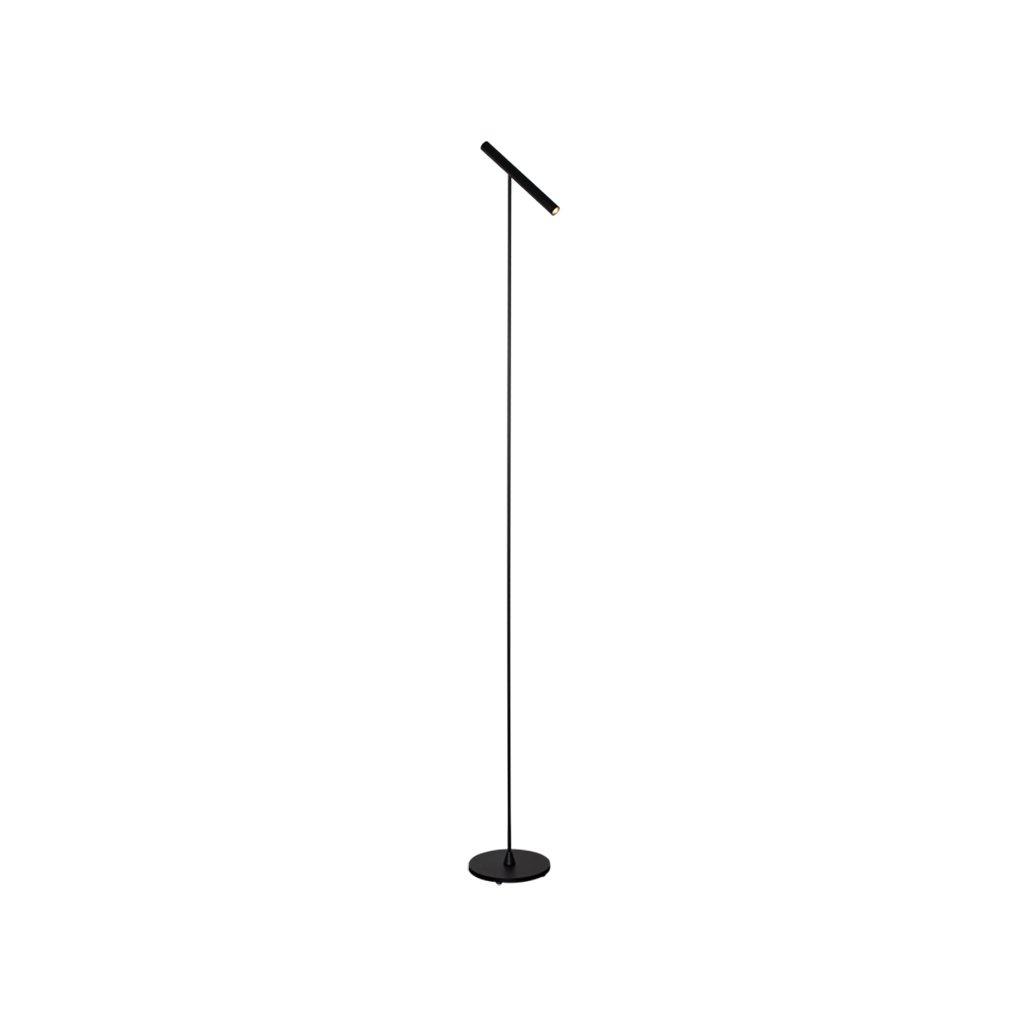 minimalistická stojací lampa
