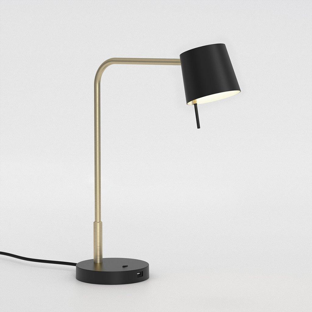 stolní lampa s USB