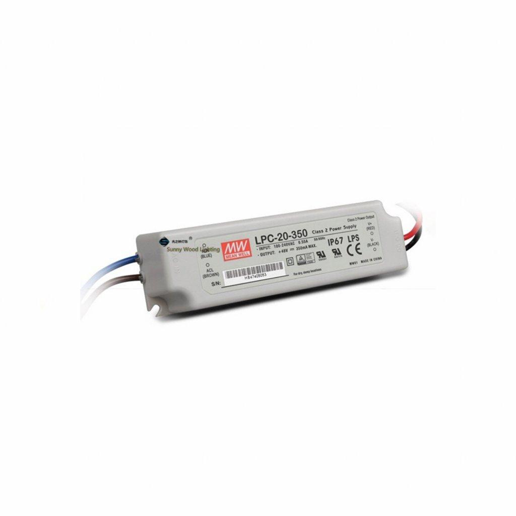 transformátor led
