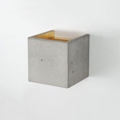 žárovkové betonové svítidlo