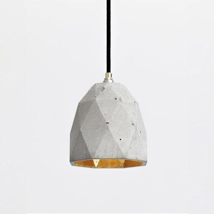 designové betonové svítidlo