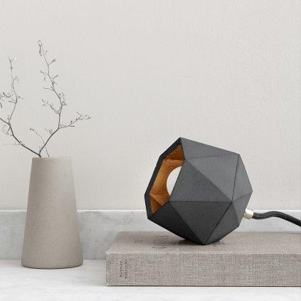 cool betonová lampička